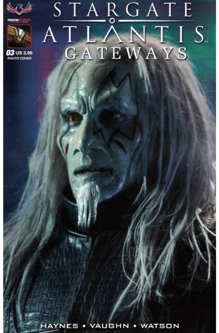 Stargate Atlantis Gateways #3 Todd the Wraith Photo Cover [American Myth Comic] THUMBNAIL