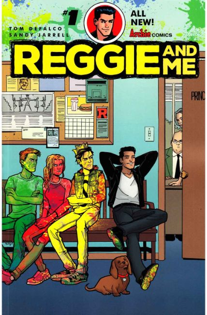 Reggie and Me #1 Cover A [Archie Comic]_THUMBNAIL