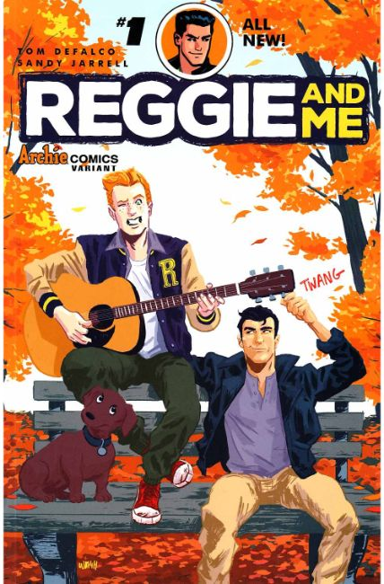 Reggie and Me #1 Cover I [Archie Comic]_THUMBNAIL
