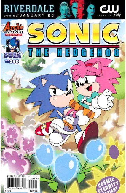 sonic the hedgehog 290 cover b archie comic dreamlandcomics com