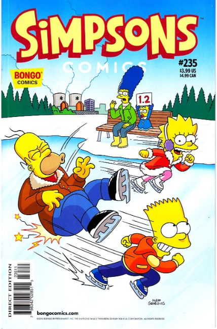 Simpsons Comics #235 [Bongo Comic] THUMBNAIL