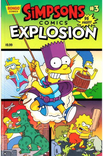 Simpsons Comics Explosion #3 [Bongo Comic] THUMBNAIL