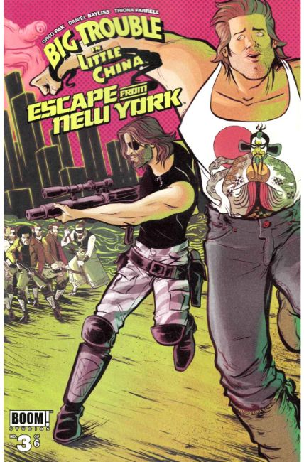 Big Trouble In Little China Escape New York #3 [Boom Comic] THUMBNAIL