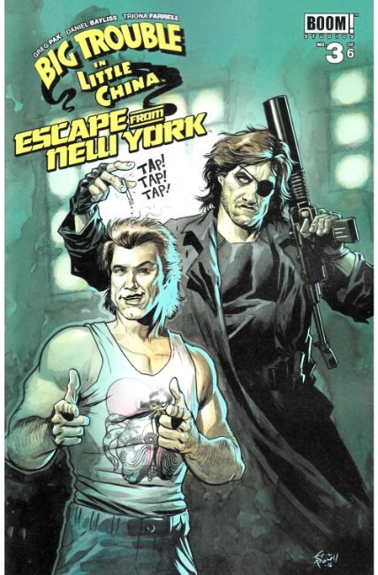 Big Trouble In Little China Escape New York #3 Subscription Cover [Boom Comic]
