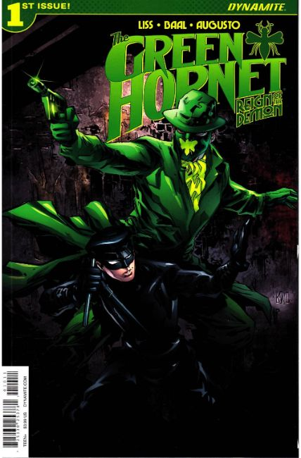 Green Hornet Reign of the Demon #1 Cover A [Dynamite Comic] THUMBNAIL