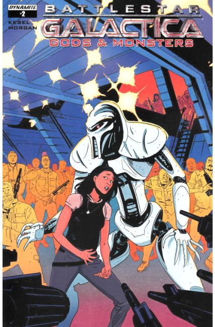 Battlestar Galactica Gods & Monsters #2 Cover A [Dynamite Comic] THUMBNAIL