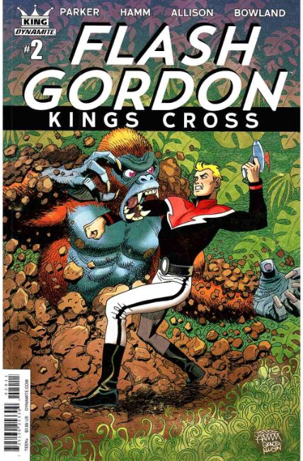 Flash Gordon Kings Cross #2 Cover A [Dynamite Comic]_THUMBNAIL