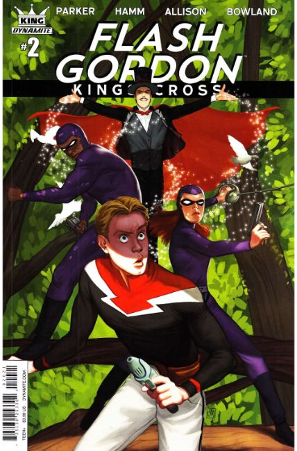 Flash Gordon Kings Cross #2 Cover B [Dynamite Comic]_THUMBNAIL
