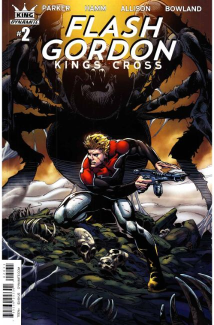 Flash Gordon Kings Cross #2 Cover C [Dynamite Comic]_THUMBNAIL