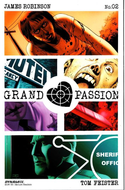 Grand Passion #2 Cover A [Dynamite Comic] THUMBNAIL