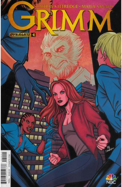 Grimm V2 #4 Cover A [Dynamite Comic] THUMBNAIL