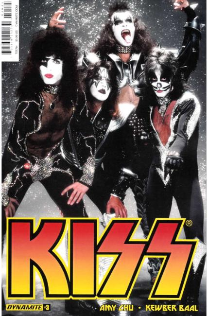 KISS #3 Cover C [Dynamite Comic] THUMBNAIL