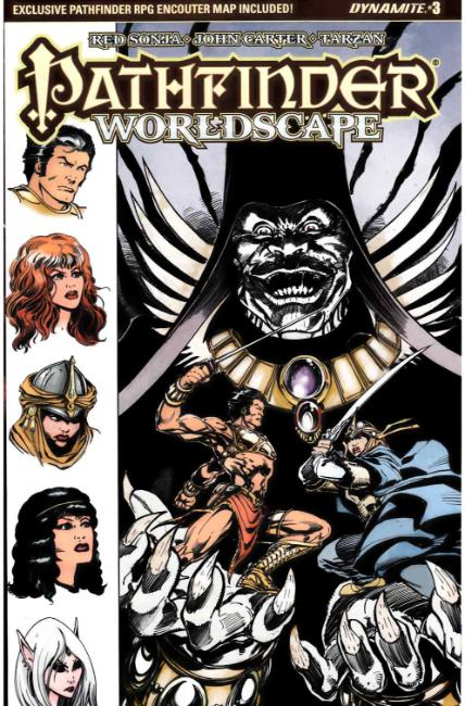 Pathfinder Worldscape #3 Cover B [Dynamite Comic]_THUMBNAIL