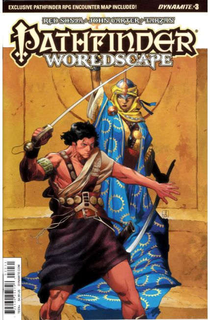 Pathfinder Worldscape #3 Cover C [Dynamite Comic]_THUMBNAIL