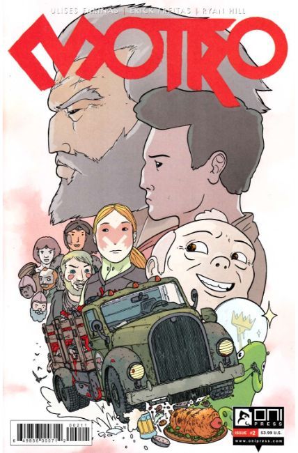 Motro #2 [Oni Press Comic] LARGE