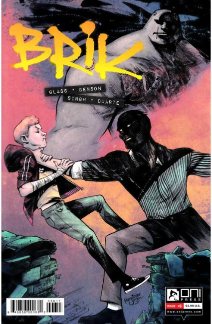 Brik #6 [Oni Press Comic]
