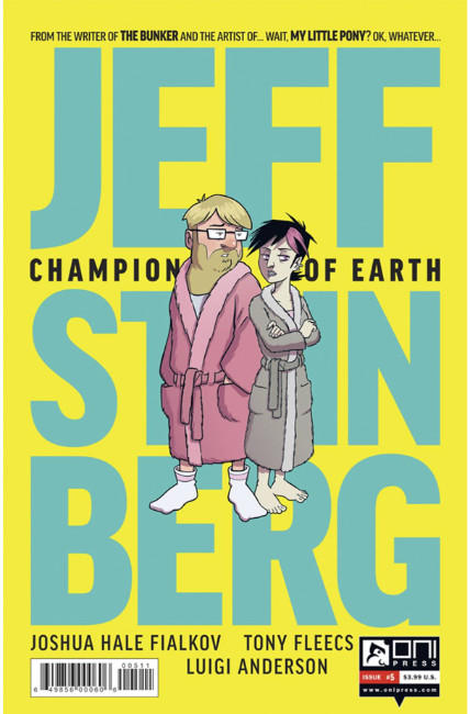 Jeff Steinberg Champion of Earth #5 [Oni Press Comic] THUMBNAIL