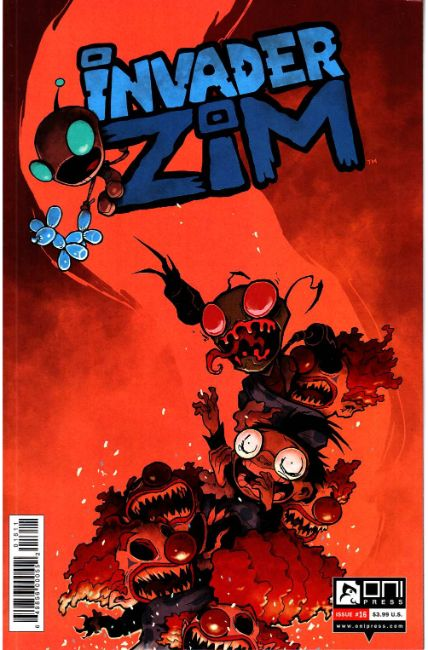 Invader Zim #16 Shmorky Variant Cover [Oni Press Comic] THUMBNAIL