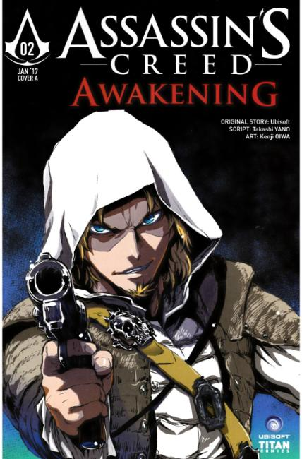 Assassins Creed Awakening #2 Cover A [Titan Comic] THUMBNAIL