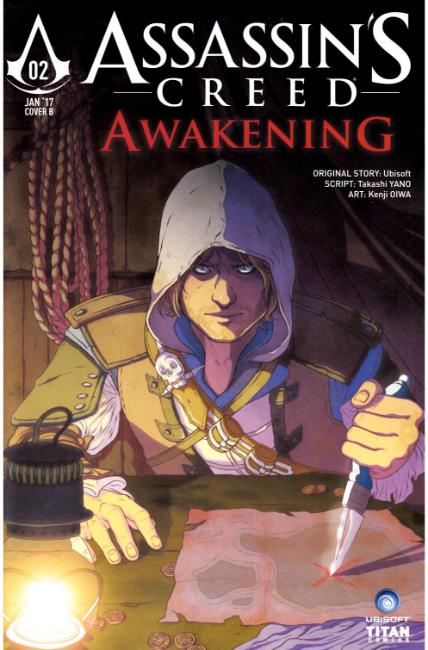 Assassins Creed Awakening #2 Cover B [Titan Comic]_THUMBNAIL