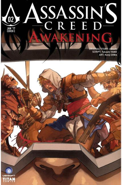 Assassins Creed Awakening #2 Cover C [Titan Comic] THUMBNAIL