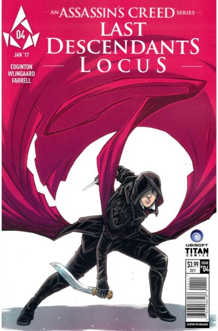 Assassins Creed Locus #4 Cover A [Titan Comic]_THUMBNAIL