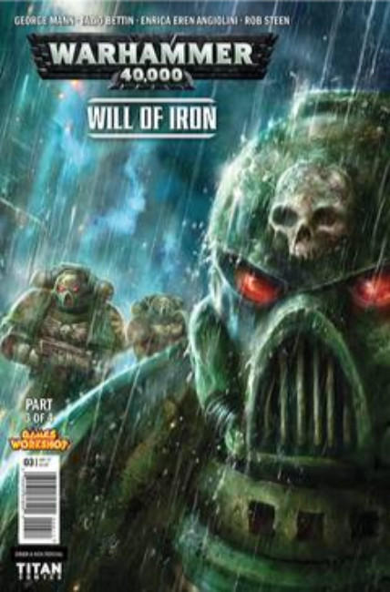 Warhammer 40000 Will of Iron #3 Cover A [Titan Comic] THUMBNAIL
