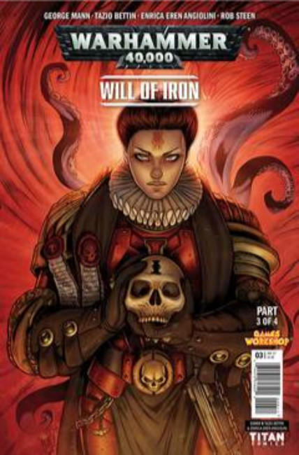 Warhammer 40000 Will of Iron #3 Cover B [Titan Comic] THUMBNAIL