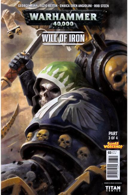 Warhammer 40000 Will of Iron #3 Cover D [Titan Comic] THUMBNAIL