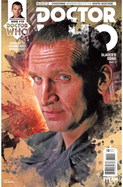Doctor Who 9th Doctor #10 Cover B [Titan Comic] THUMBNAIL