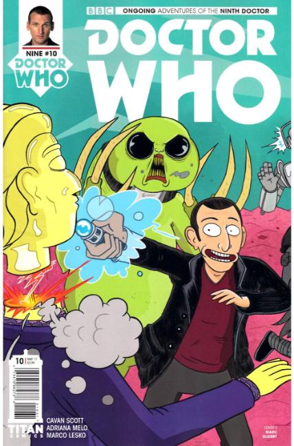 Doctor Who 9th Doctor #10 Cover C [Titan Comic] THUMBNAIL