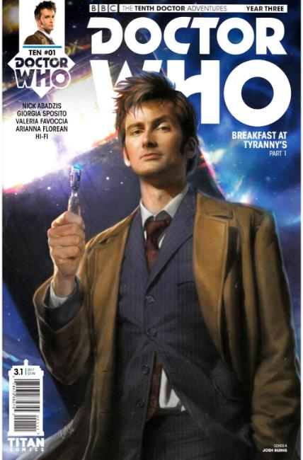 Doctor Who 10th Doctor Year Three #1 Cover A [Titan Comic] THUMBNAIL