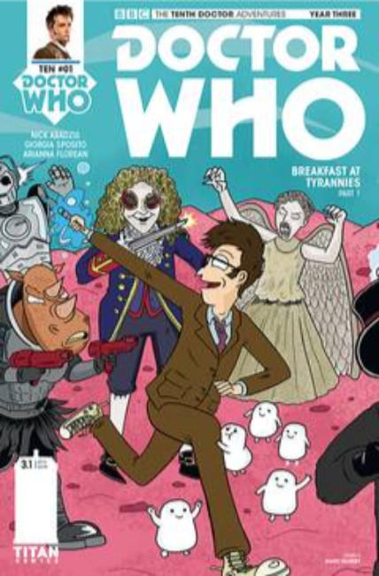 Doctor Who 10th Doctor Year Three #1 Cover C [Titan Comic] THUMBNAIL