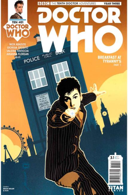 Doctor Who 10th Doctor Year Three #1 Cover E [Titan Comic] THUMBNAIL