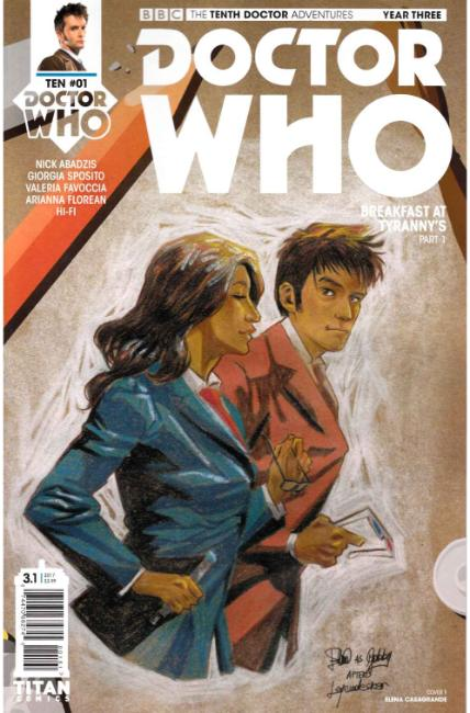 Doctor Who 10th Doctor Year Three #1 Cover F [Titan Comic] THUMBNAIL