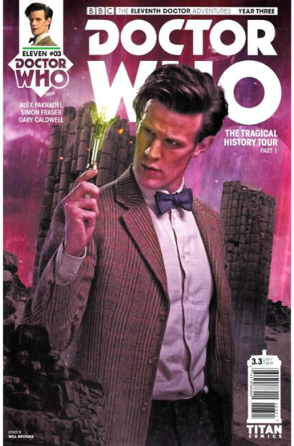 Doctor Who 11th Doctor Year Three #3 Cover B [Titan Comic] THUMBNAIL