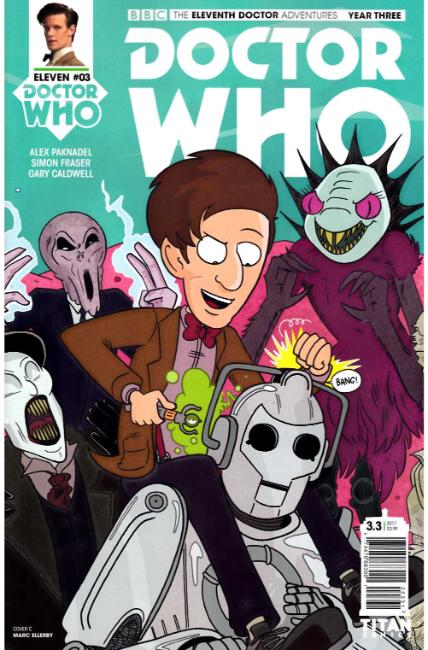 Doctor Who 11th Doctor Year Three #3 Cover C [Titan Comic] THUMBNAIL
