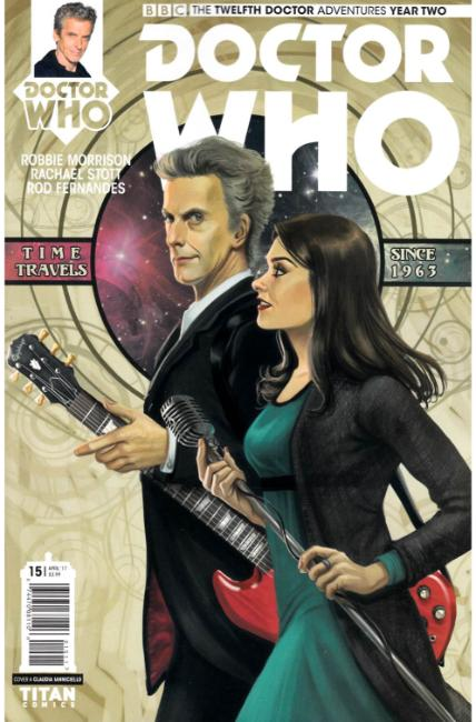 Doctor Who 12th Doctor Year Two #15 Cover A [Titan Comic] THUMBNAIL