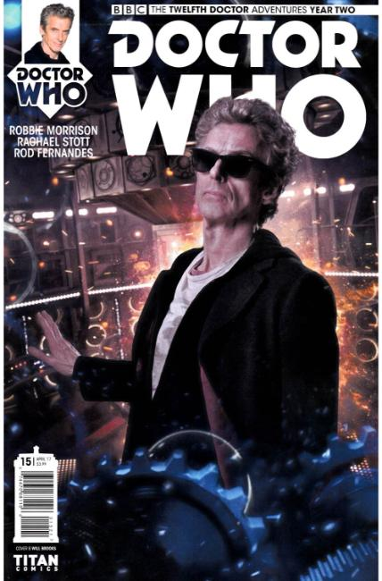 Doctor Who 12th Doctor Year Two #15 Cover B [Titan Comic] THUMBNAIL