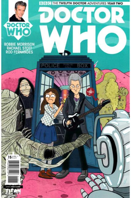 Doctor Who 12th Doctor Year Two #15 Cover C [Titan Comic] THUMBNAIL