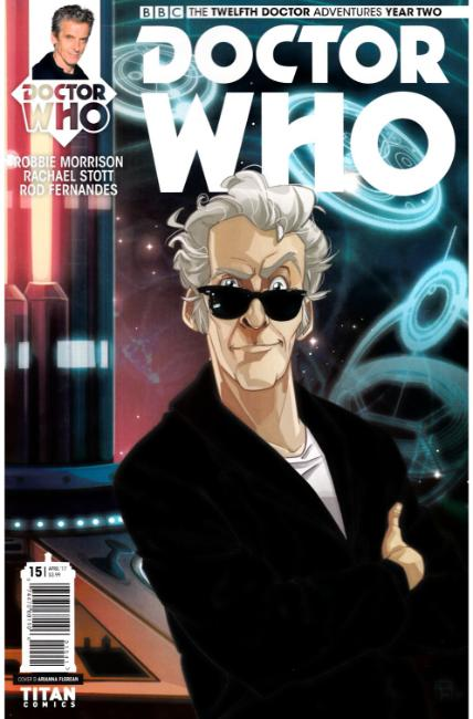 Doctor Who 12th Doctor Year Two #15 Cover D [Titan Comic] THUMBNAIL