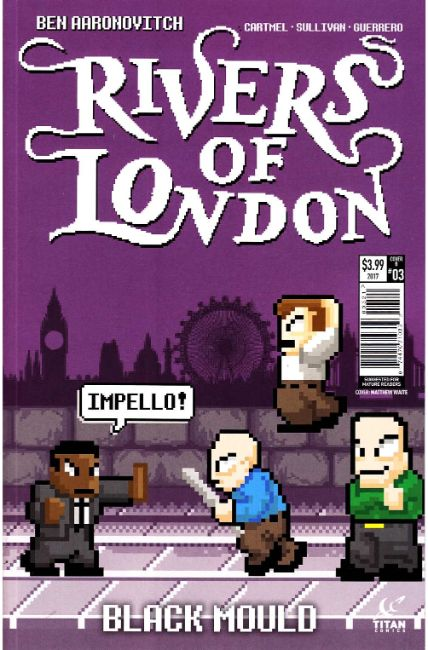 Rivers of London Black Mould #3 Cover B [Titan Comic] THUMBNAIL