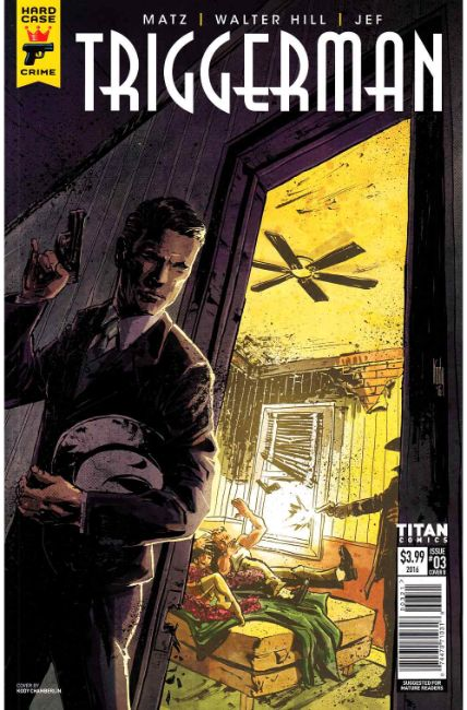 Hard Case Crime Triggerman #3 Cover B [Titan Comic] THUMBNAIL