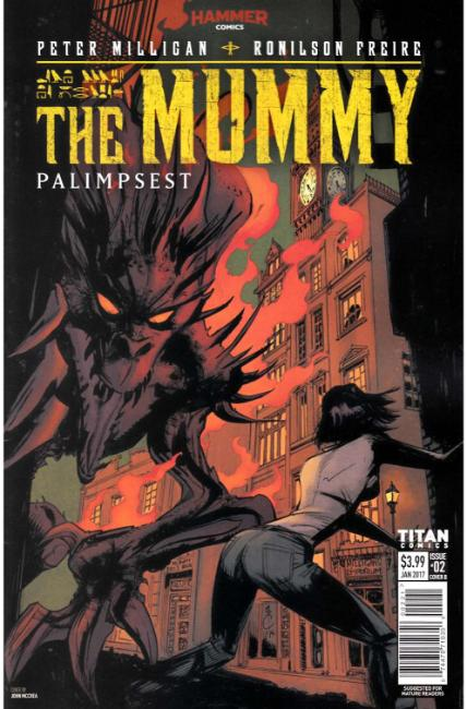 The Mummy #2 Cover B [Titan Comic] THUMBNAIL