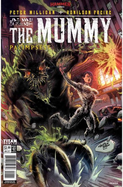 The Mummy #2 Cover D [Titan Comic] THUMBNAIL