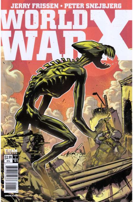 World War X #1 Cover A [Titan Comic]