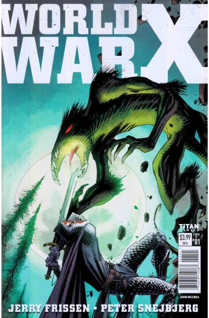 World War X #1 Cover B [Titan Comic]
