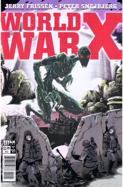 World War X #1 Cover D [Titan Comic]