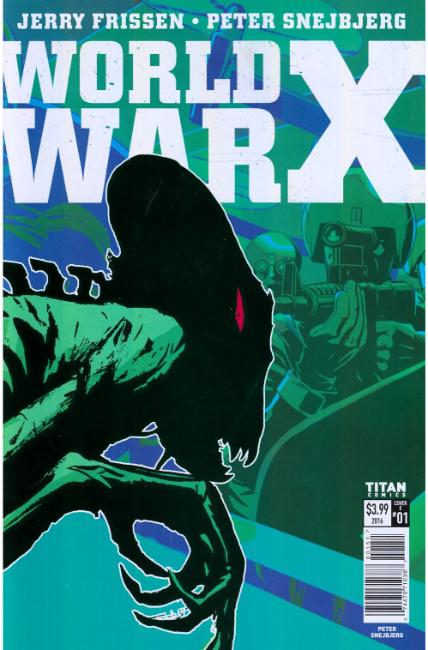 World War X #1 Cover E [Titan Comic]