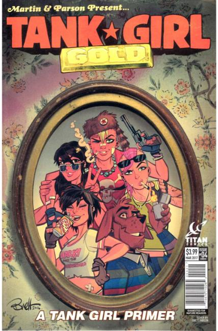 Tank Girl Gold #4 Cover B [Titan Comic]